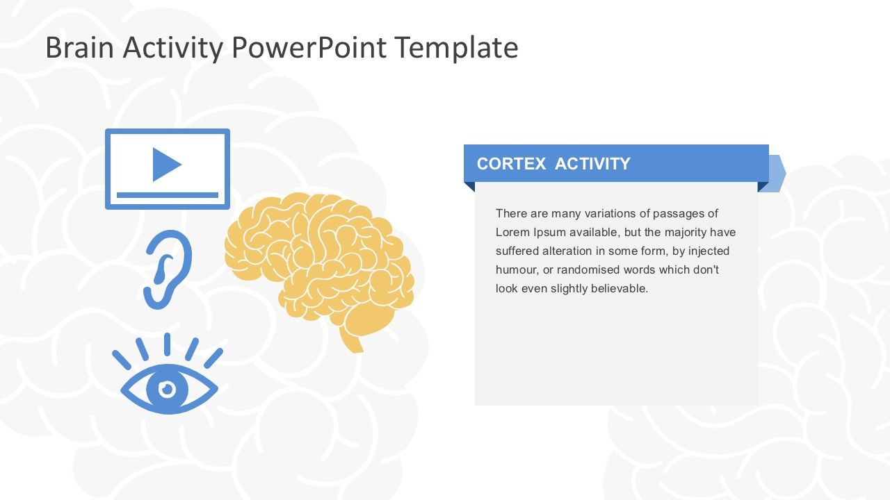 Brain activity powerpoint template brain activity strategy slides powerpoint toneelgroepblik Choice Image