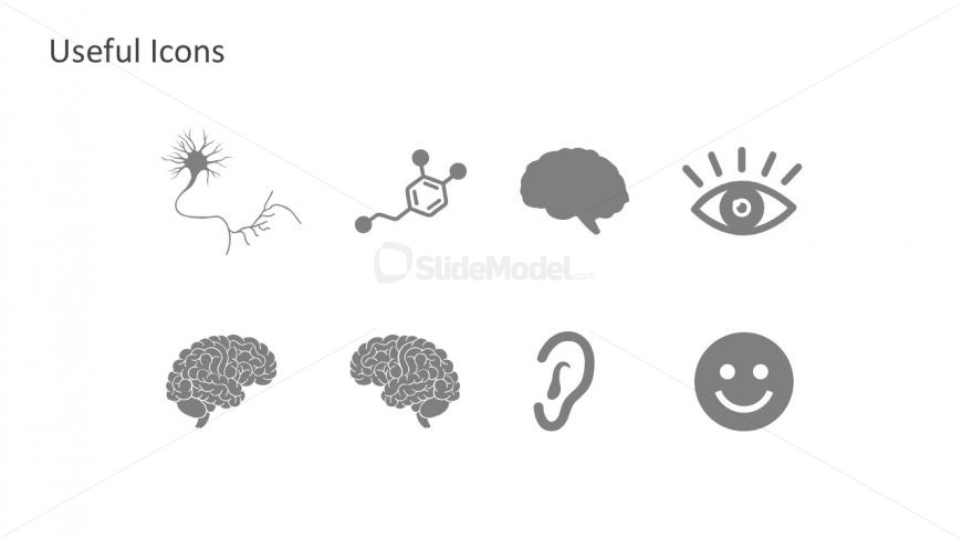 PowerPoint Human Brain Icons