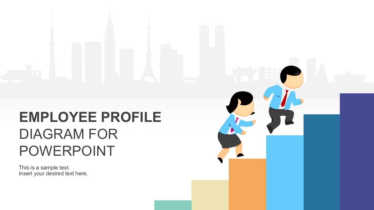 Employee profile diagram powerpoint template toneelgroepblik Images