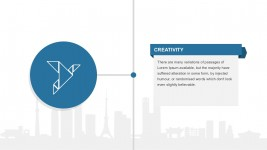 Creative Employee Profile Slide Template