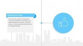 Positive Attitude Textfield Template PowerPoint