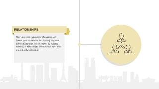 Employer-Employee Relationship PowerPoint Metaphor
