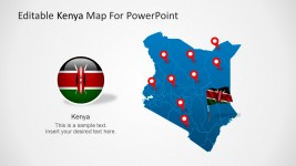 Political Outline of Kenya PowerPoint