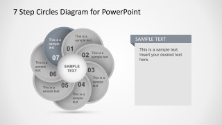 Circular Motion Effect PowerPoint Diagrams Templates