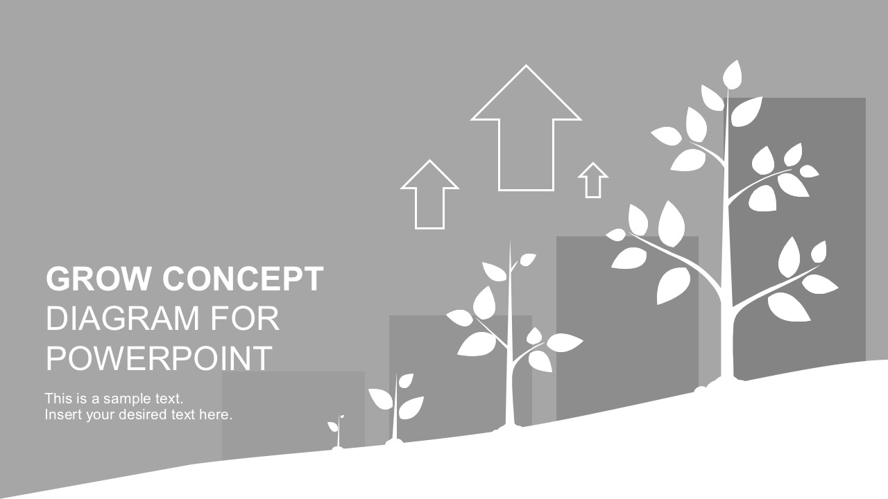 Money Tree Diagram For PowerPoint Presentations