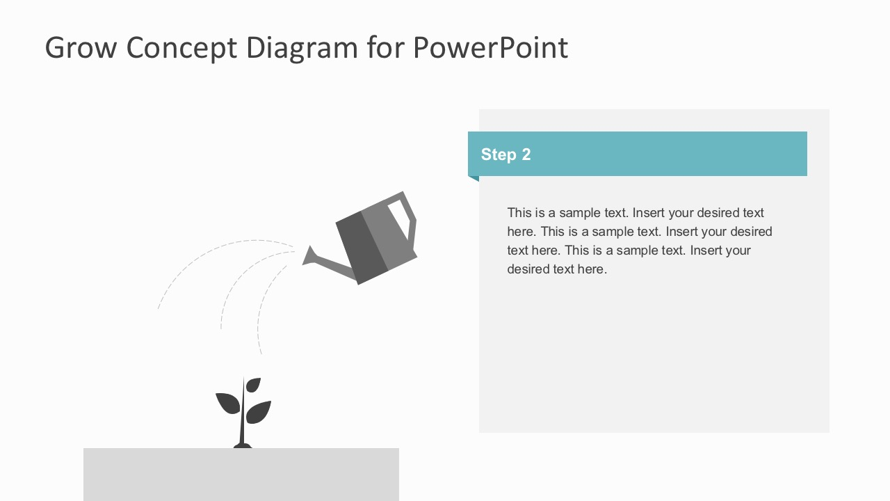 Growth concept diagram powerpoint template step 2 tree template for business diagram maxwellsz