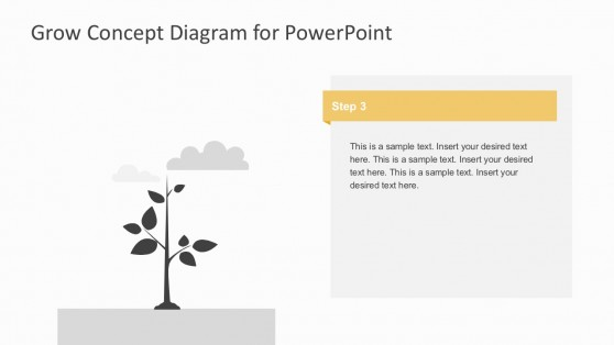 5 Segments Of Business Growth Template For PowerPoint