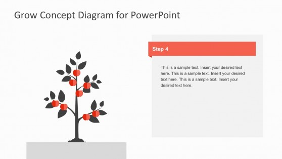 Full Grown Tree Business Product Template For PowerPoint