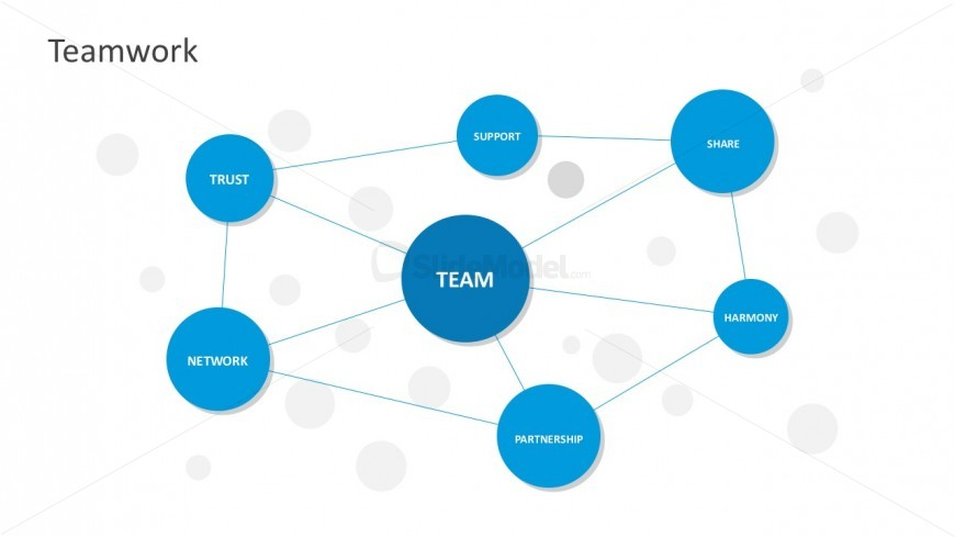 Teamwork Spider Web Chart Powerpoint Templates - Slidemodel
