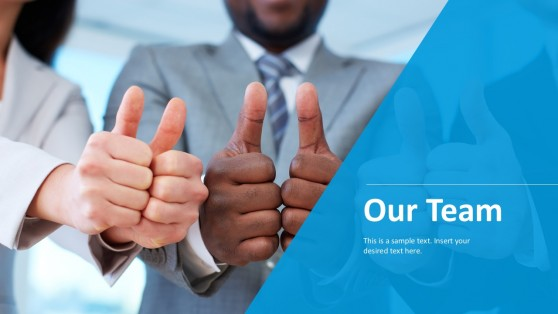 Team Approved Sign Business PowerPoint