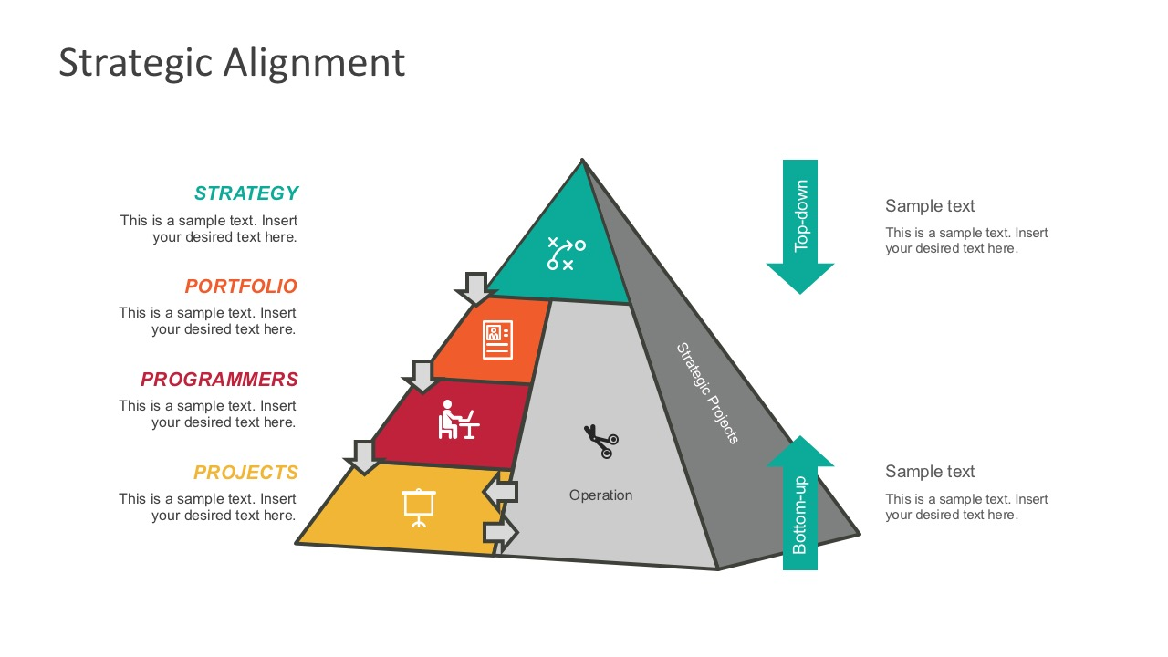 Strategic Allignment PowerPoint Infographics