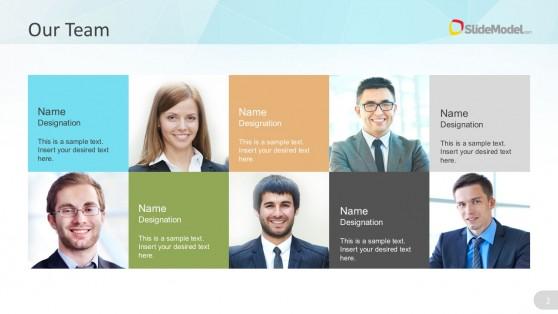 Business Management Team PowerPoint Design