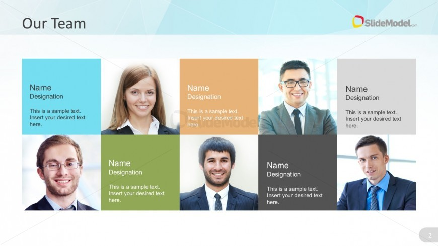 Company Business Team PowerPoint Design