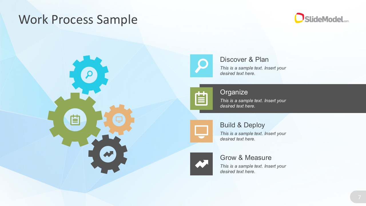 low poly business template, Low Poly Business Presentation Template, Presentation templates