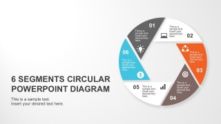 Circle Diagram Business Steps Presentation