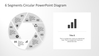 Hexagon Core Diagram PowerPoint Template Presentation