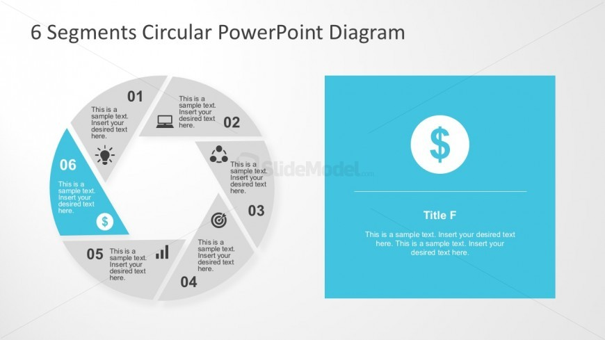 Easy Edit Circle Charts For Business Presentations