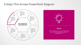 6 Steps Business Diagrams For PowerPoint