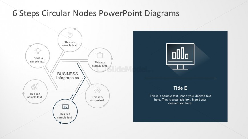 6 Segments PowerPoint Templates And Diagrams