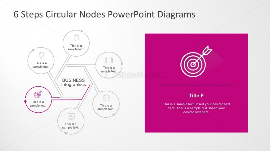 Circular Nodes PowerPoint Diagrams For Business