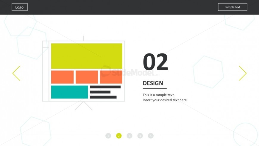 flat material web design powerpoint templates - slidemodel, Powerpoint templates