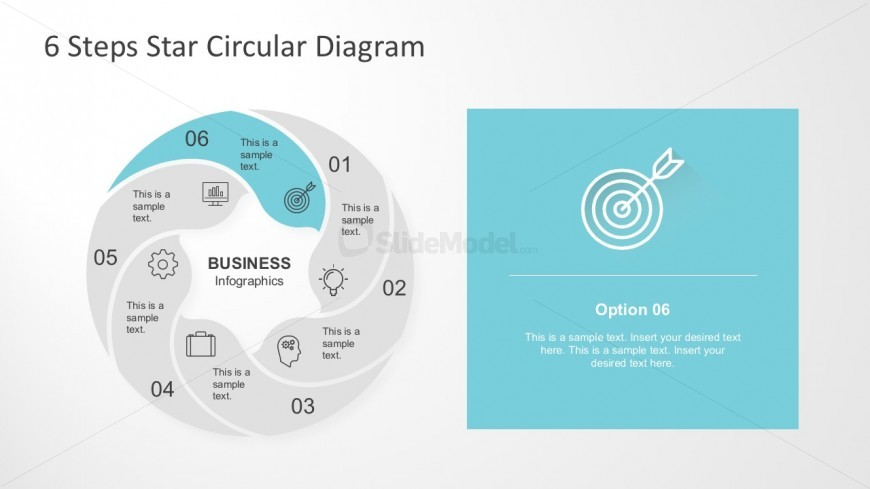 Editable Business Circle PowerPoint Diagrams