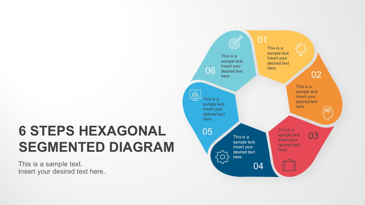 Editable PowerPoint Diagram Cover Slide Layout