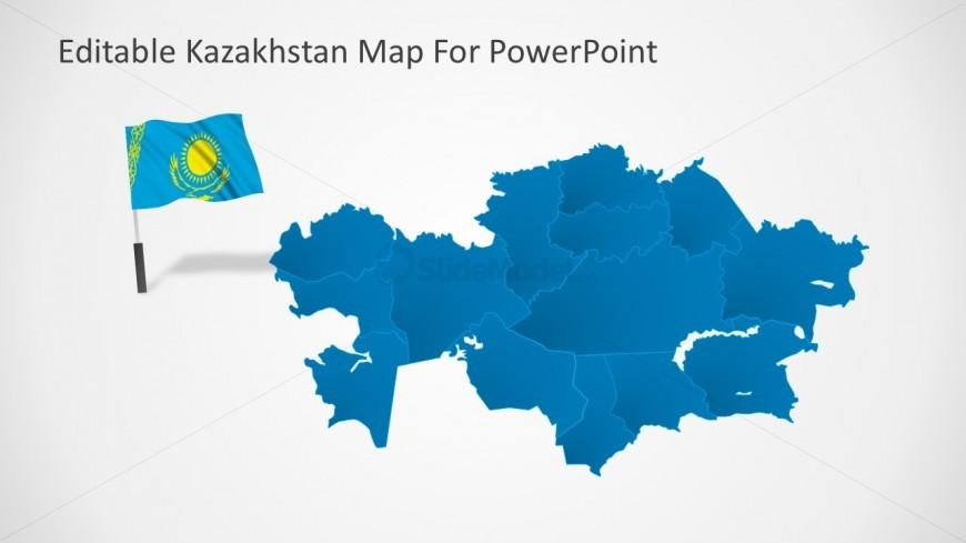 Kazakhstan Map Geographic Location