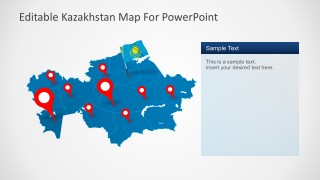 Asian Country Powerpoint Map