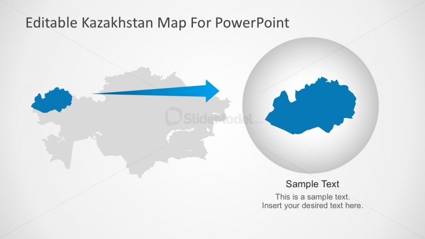 Kazakhstan Powerpoint Template For Mac