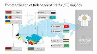 Commonwealth of Independent States Regional Map