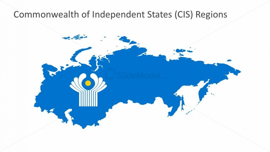 CIS Connected Maps PowerPoint Templates