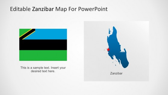 Editable Regional Map of Zanzibar