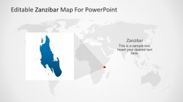 Zanzibar Administrative Districts Template