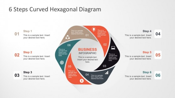 6 Steps Process Diagrams Templates for PowerPoint