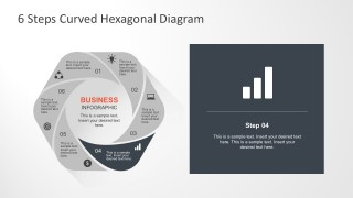 Hexagon Shape Templates for PowerPoint Presentation