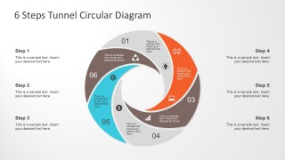 Flat Design PowerPoint Diagram Infographics