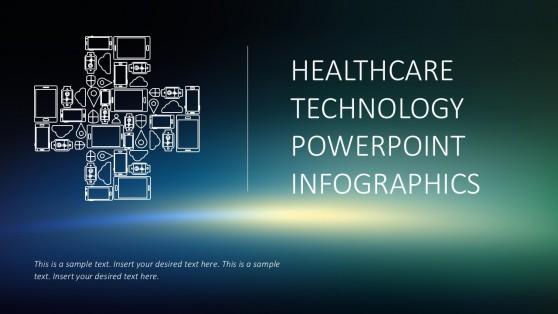 health technology powerpoint templates  Thin PowerPoint Templates