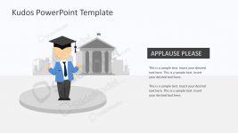 Mike Graduation Cap Graphic Slides