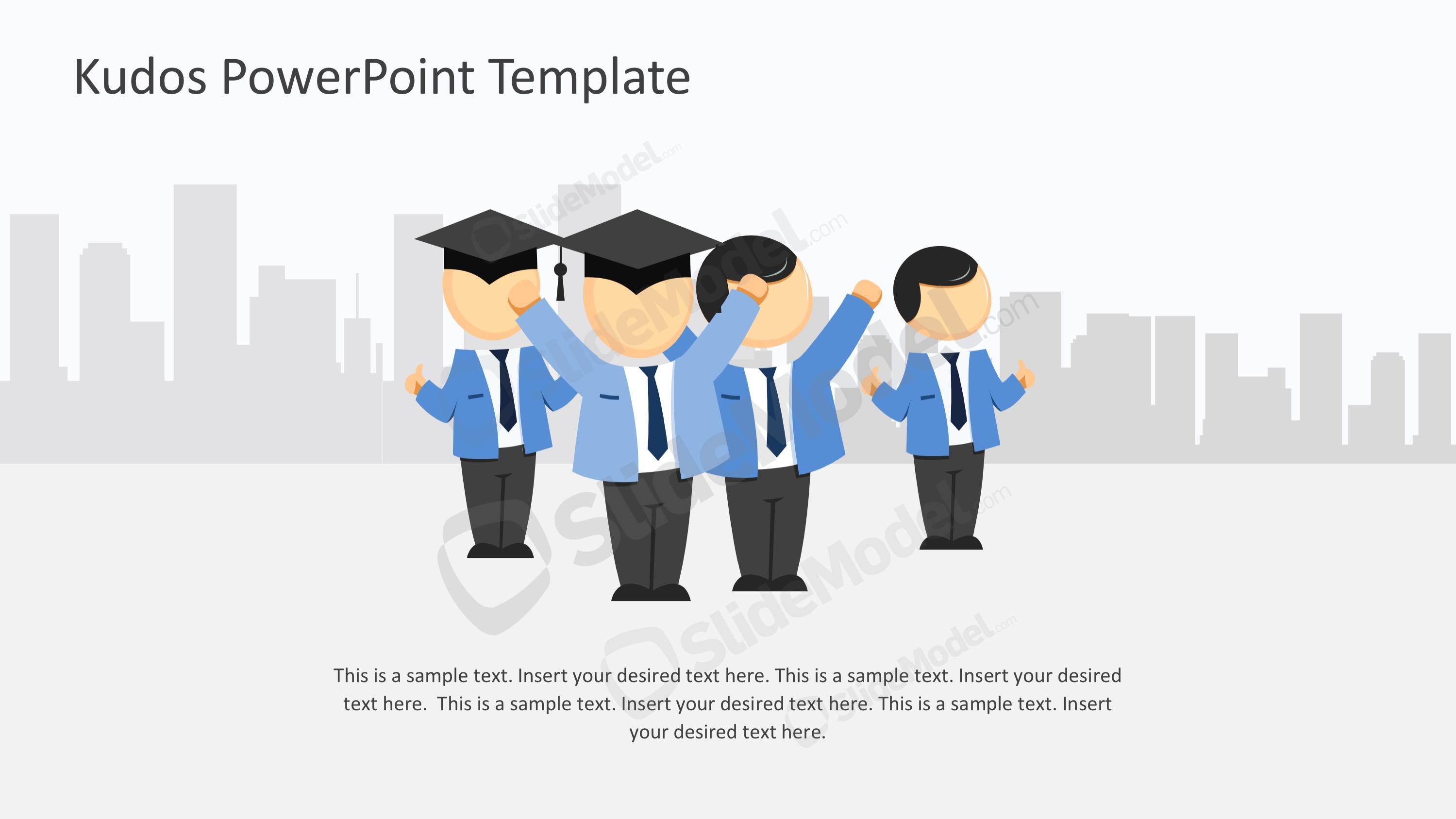 Graduation Human Vectors In PowerPoint