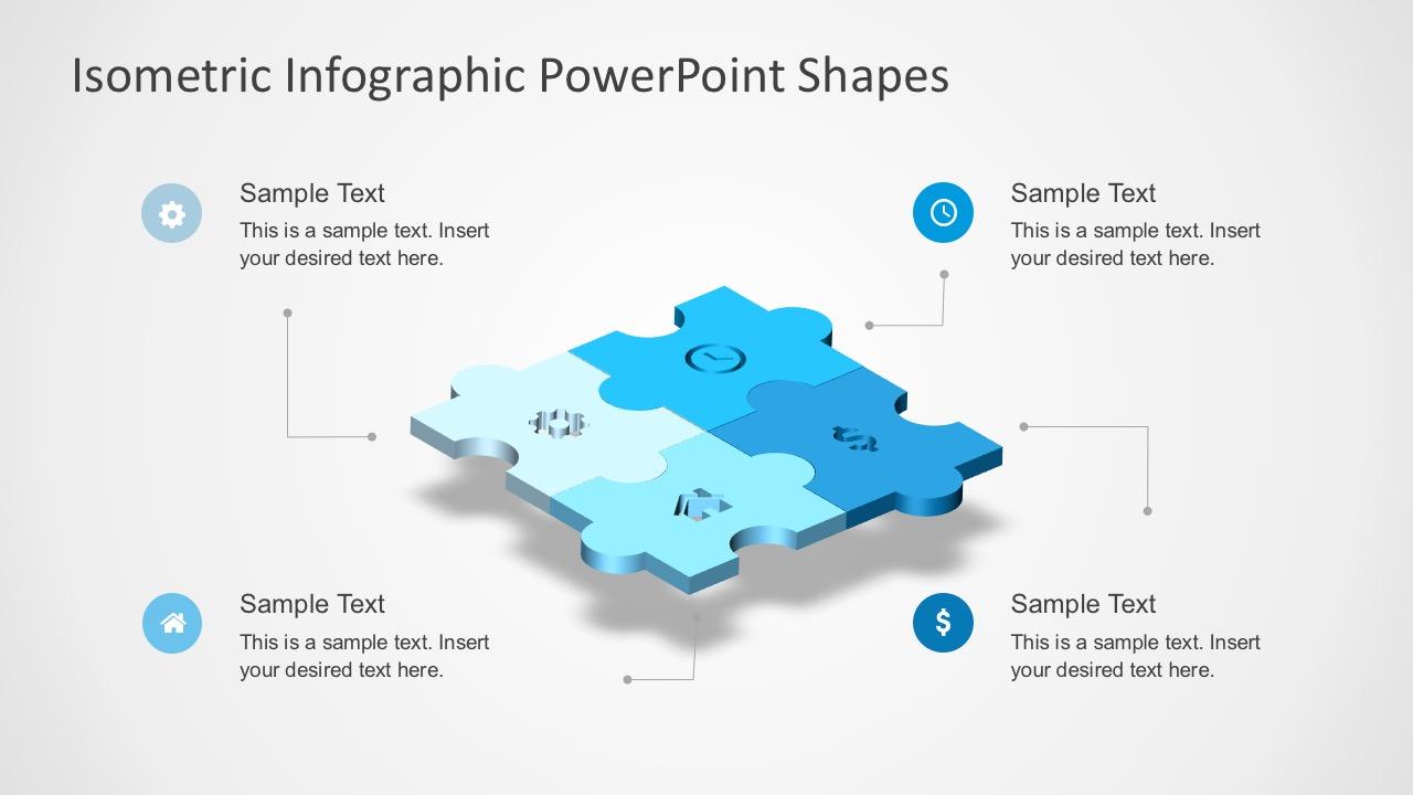 Editable Jigsaw Pieces PowerPoint Template