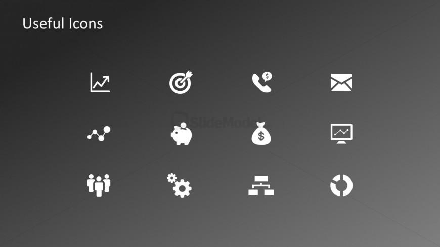 Editable PowerPoint Clip Art Icons Vectors