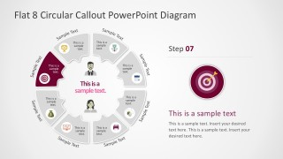 Awesome Circle Diagrams Style For PowerPoint