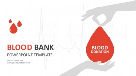 Blood Donation Template Slides