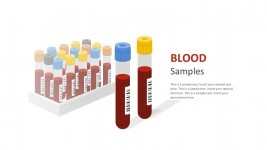Blood Samples PowerPoint Graphic Slides