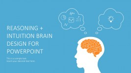 Brain Infographics Design for PowerPoint