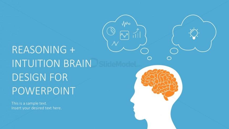 Hand Drawn Brain PowerPoint Graphic Slides