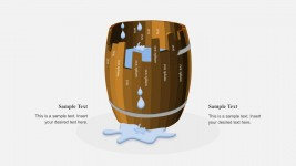 Editable Barrel PowerPoint Shapes