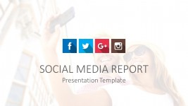 Social Media PowerPoint Template Cover