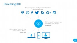 Social Media Editable Graphics for PowerPoint